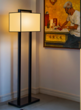 LACQUER FLOOR LAMP